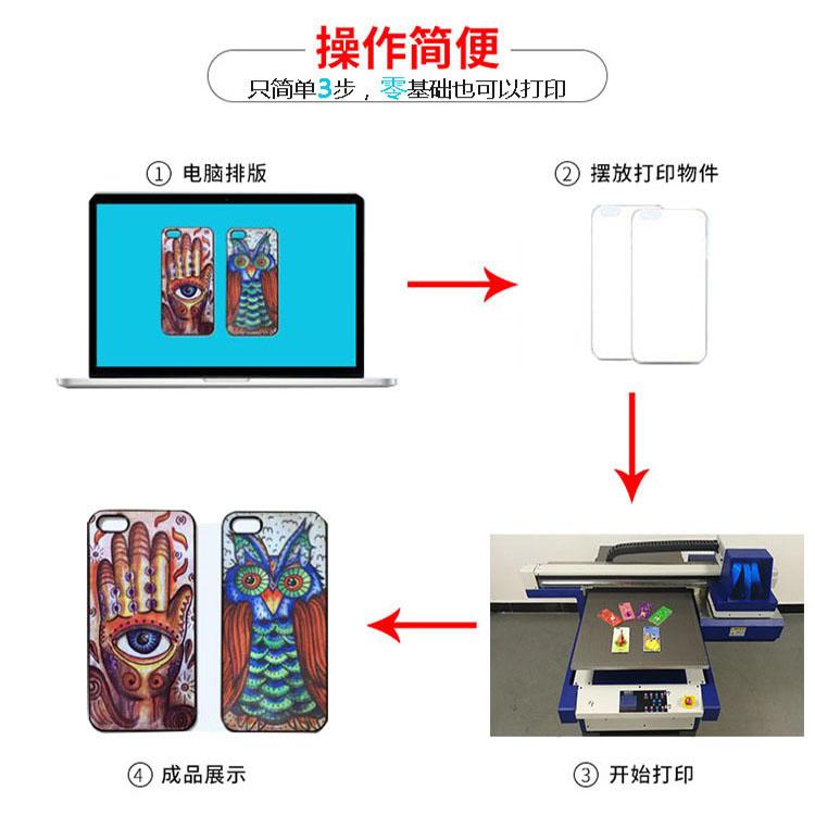 小型平板打印机,在家创业的机器操作流程