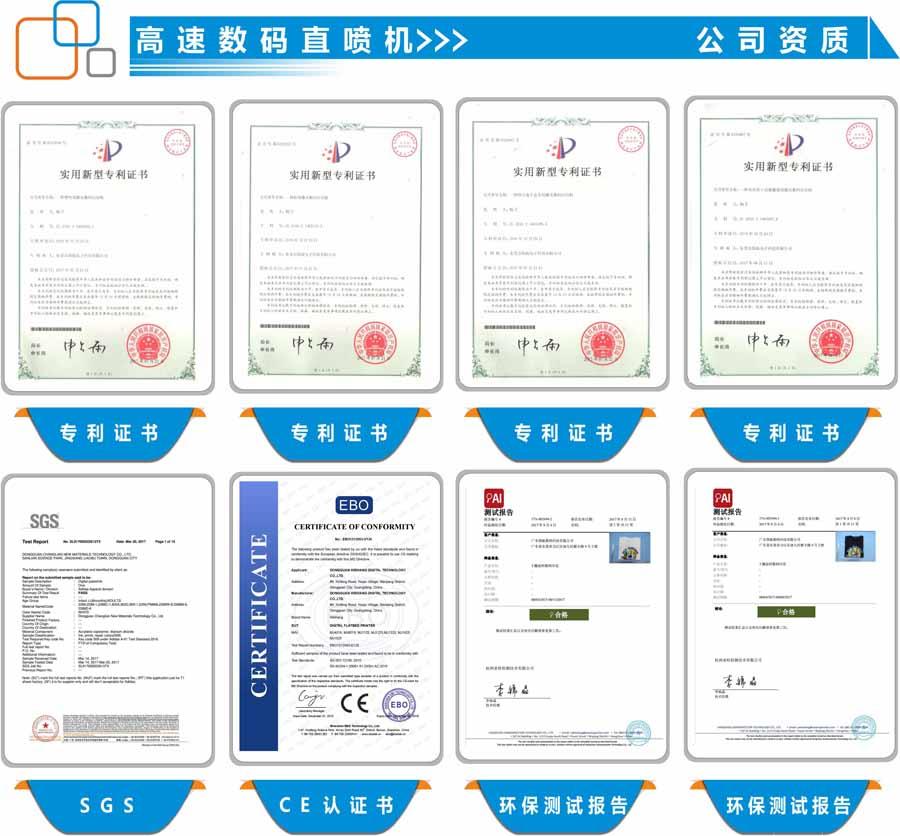 数码直喷印花机环保报告